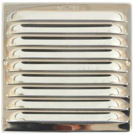 GRIGLIA UNIVERSALE INOX X VENTILAZIONE quadra C/RETE 150X150