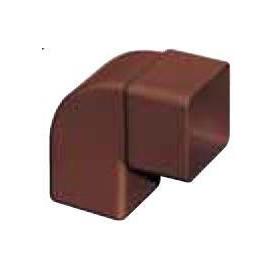 CURVA PLUVIALE PVC COL. MARRONE 87° 100X100