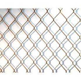 RETE INOX ELETTROSALD. Q 25 (ROMBO 14X14)