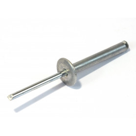 RIVETTI Alluminio Naturale Ø5X40mm A FIORE TESTA LARGA TL14mm