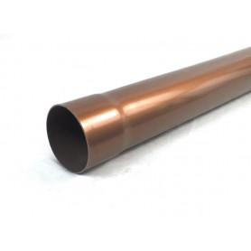 TUBO PLUVIALE PVC Ø80 COL. RAMATO DA ML.2