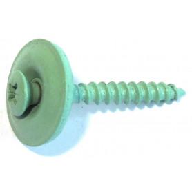 VITE INOX A2 Ø4,5x35 con rondella Guarnita Ø20 Color VERDE ROOF (RAME OSSIDATO)