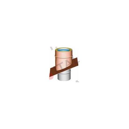 SUPPORTO A SOLAIO INCL 30% RAME/INOX x MOD. COIB.
