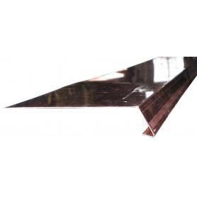 """GREMBIALINA A """"L APERTA"""" in Rame Sviluppo 16cm Spess. 0,5mm da Metri 1,0"""