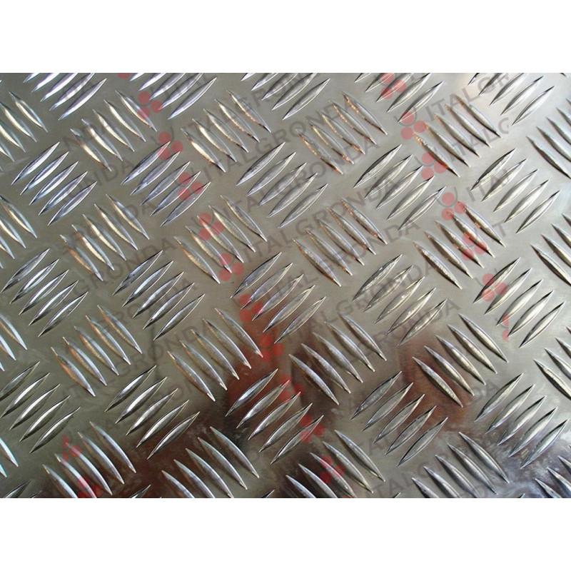 Lastra Alluminio Mandorlato 3000x1500x3 0