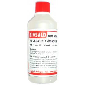 RIVSALD ACIDO X SALDATURA RAME - INOX ML. 500