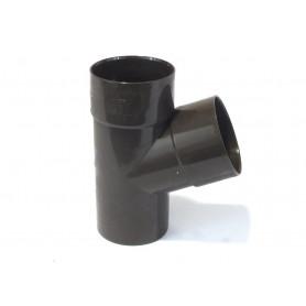 BRACA 67° PVC COL. MARRONE Ø80