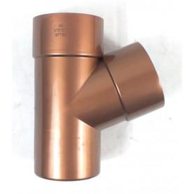 BRACA 67° PVC COL. RAMATO Ø80