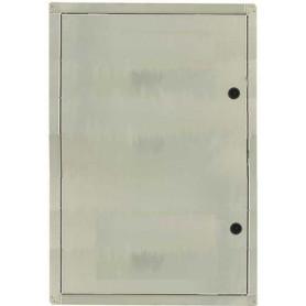 SPORTELLO PER CONTATORE GAS CON GUARNIZIONE L.40 X H. 50 CM IN ACCIAIO INOX