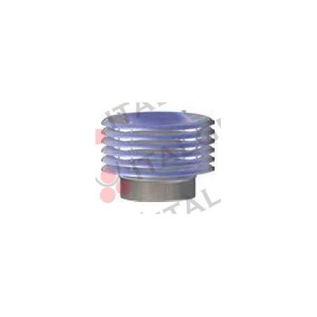 CAPPELLO C/ALETTE INOX 316