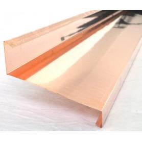 """GREMBIALINA A """"S o Z APERTA"""" in Rame Sviluppo 20cm Spess. 0,5mm da Metri 1,0"""